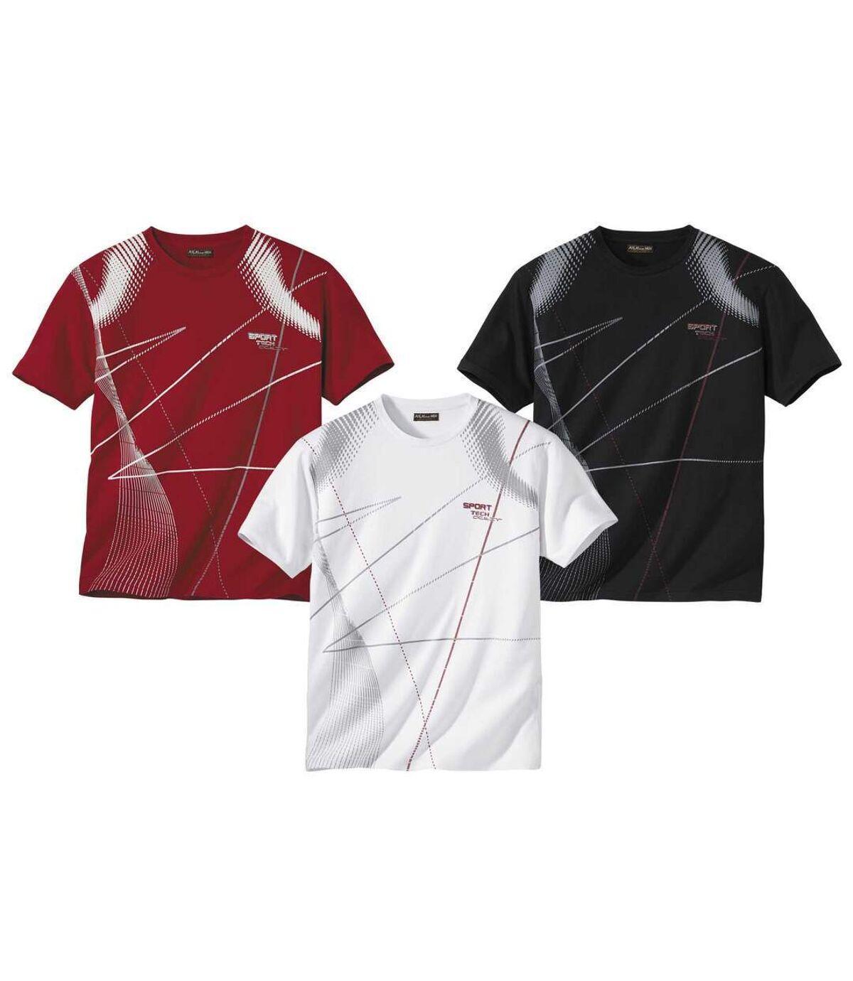 Zestaw 3 t-shirtów Sport Tech Atlas For Men