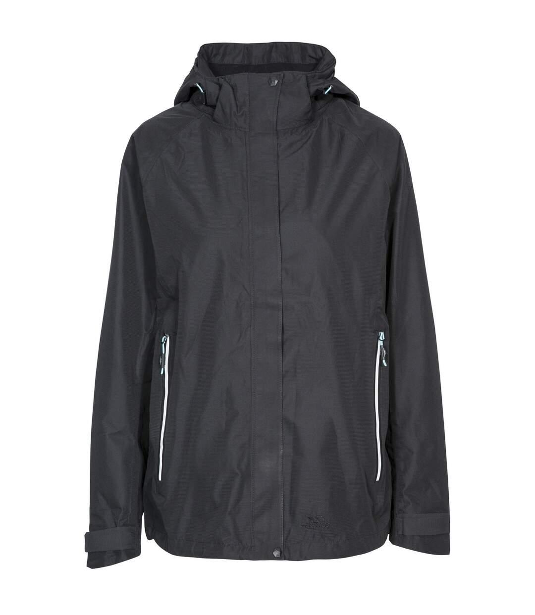 Trespass Womens/Ladies Review Waterproof Jacket (Black) - UTTP4617