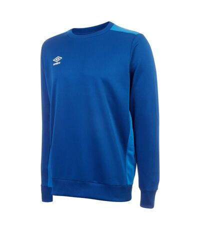 Umbro Mens Fleece Training Sweatshirt (Royal Blue/French Blue) - UTGD105