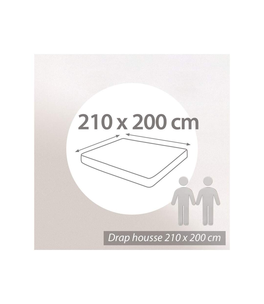 Protège matelas imperméable Antony blanc 210x200