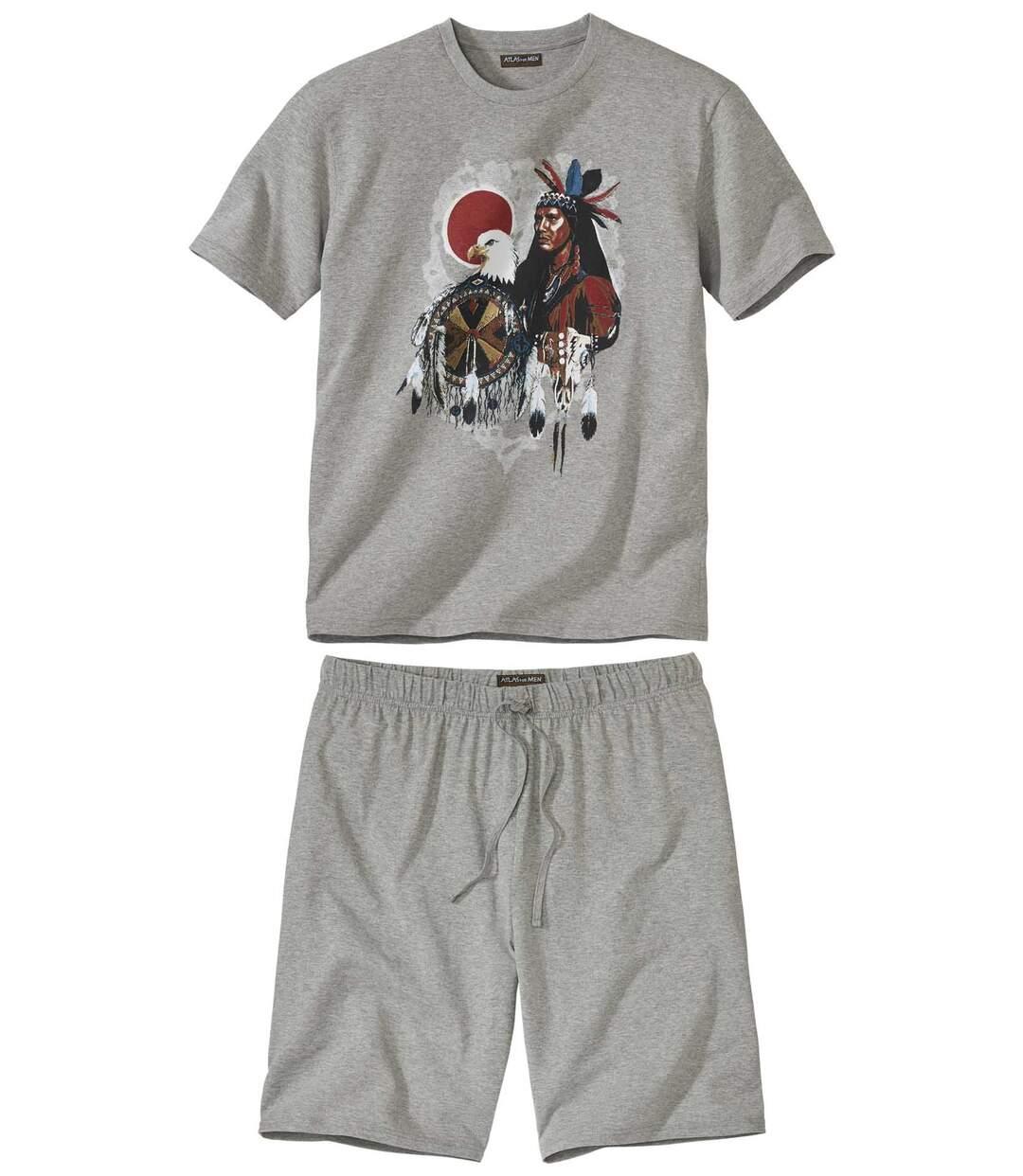 Piżama z szortami West Legend