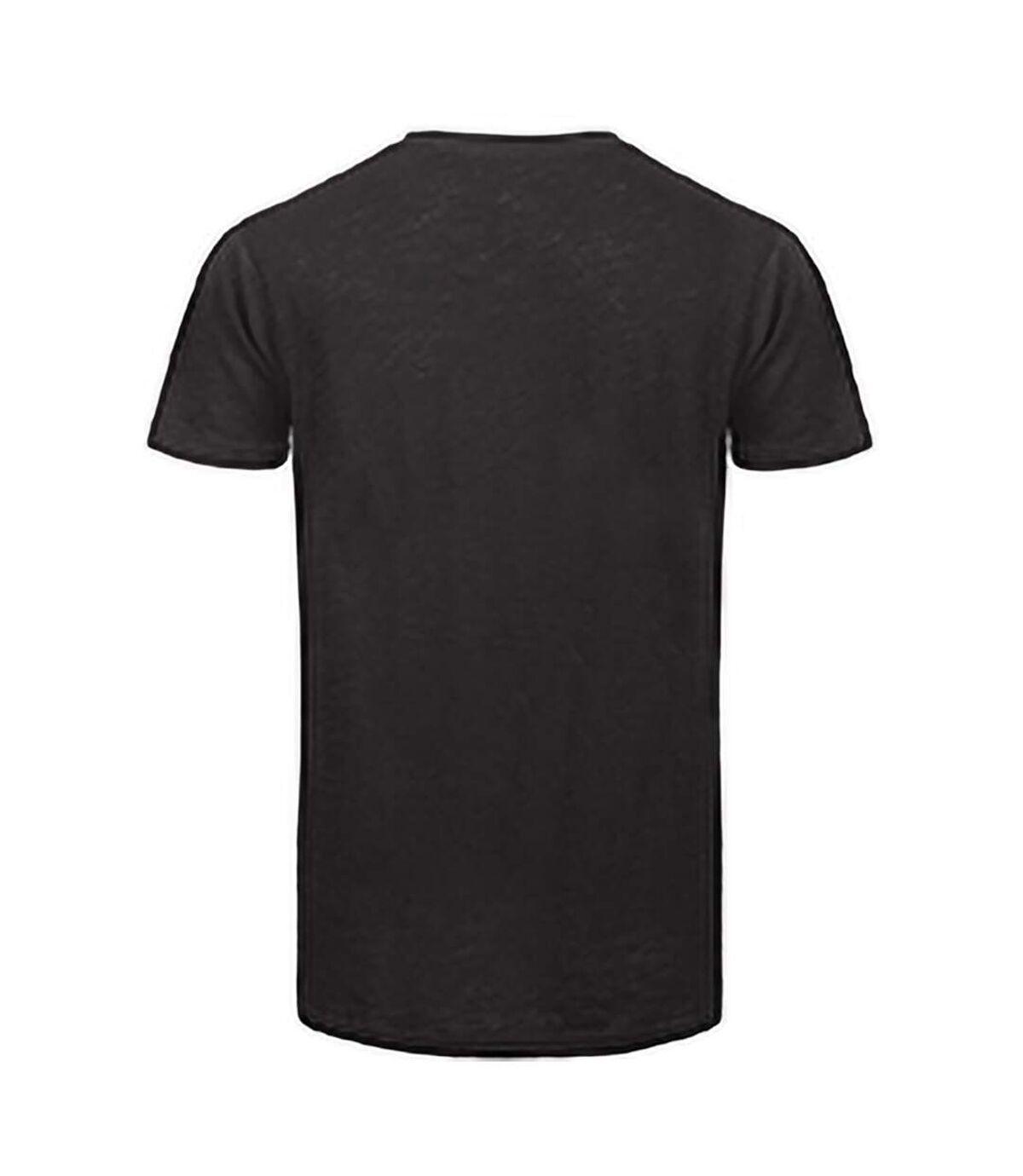 B&C Mens Favourite Organic Cotton Slub T-Shirt (Chic Black) - UTBC3637
