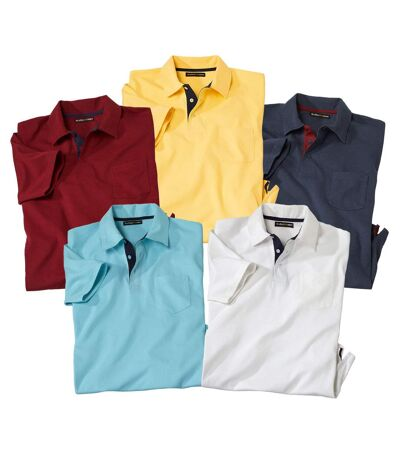 5er-Pack Poloshirts SportWear