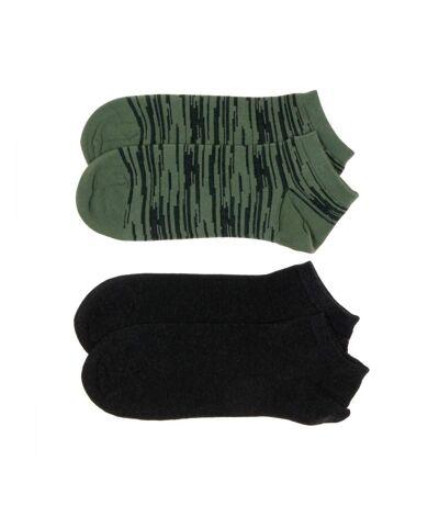 Lot de 2 paires de Socquettes Homme Dim Coton