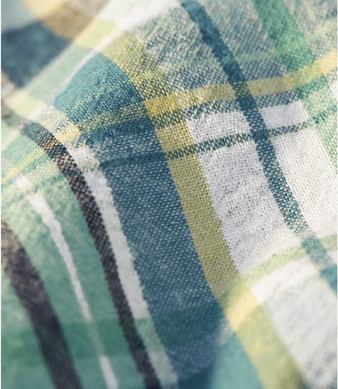 Reliéfna bavlnená košeľa