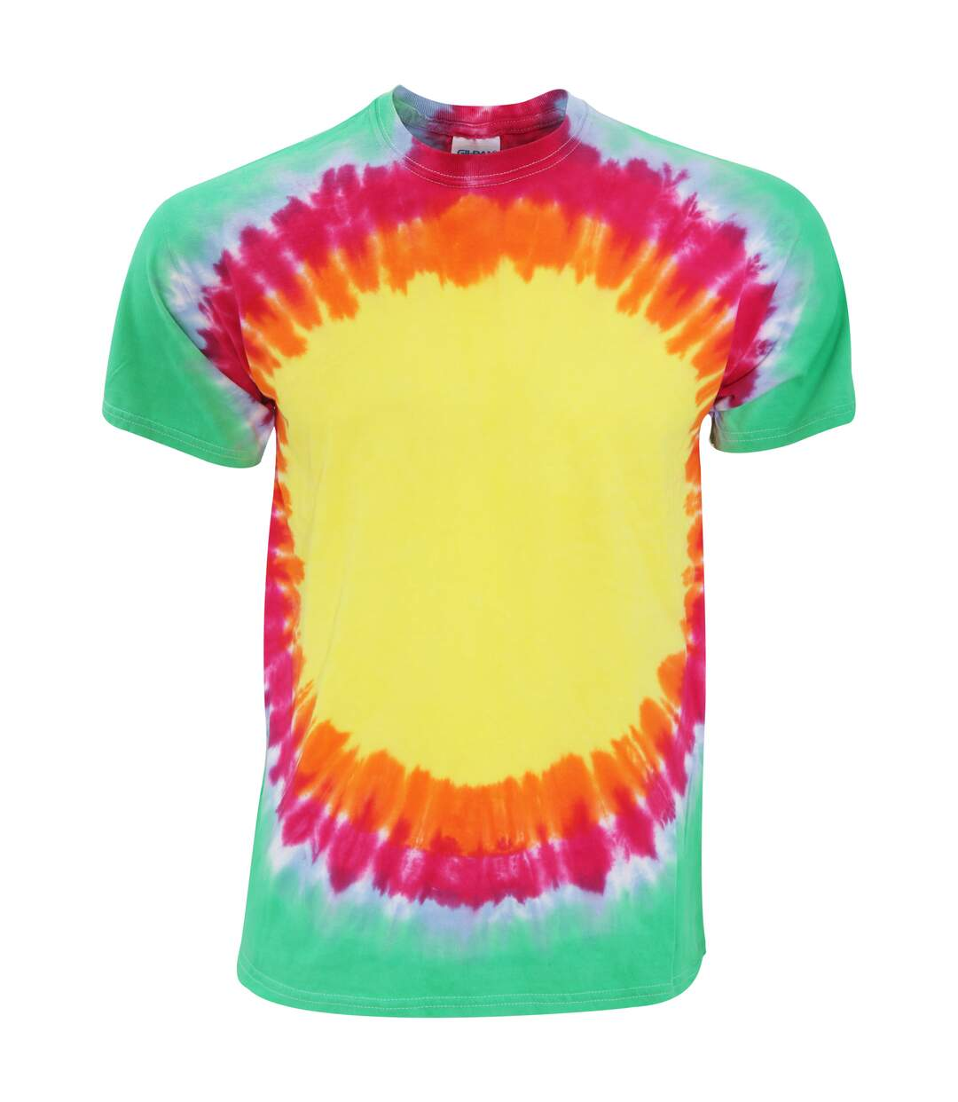 Colortone Adult Unisex Heavyweight Rainbow Sunburst T-Shirt (Rainbow Sunburst) - UTRW2633