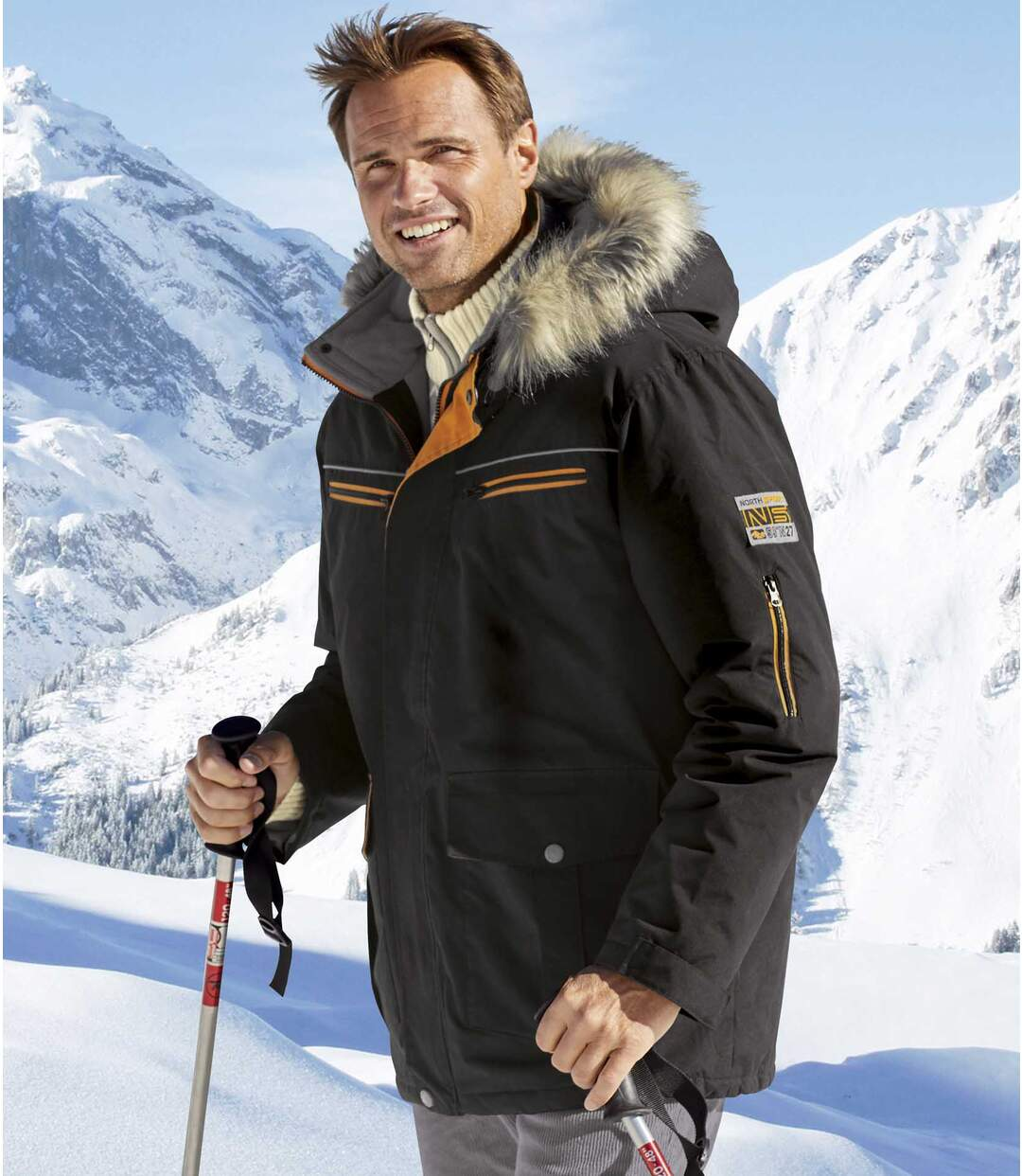 Parka High Performance Webpelzkapuze
