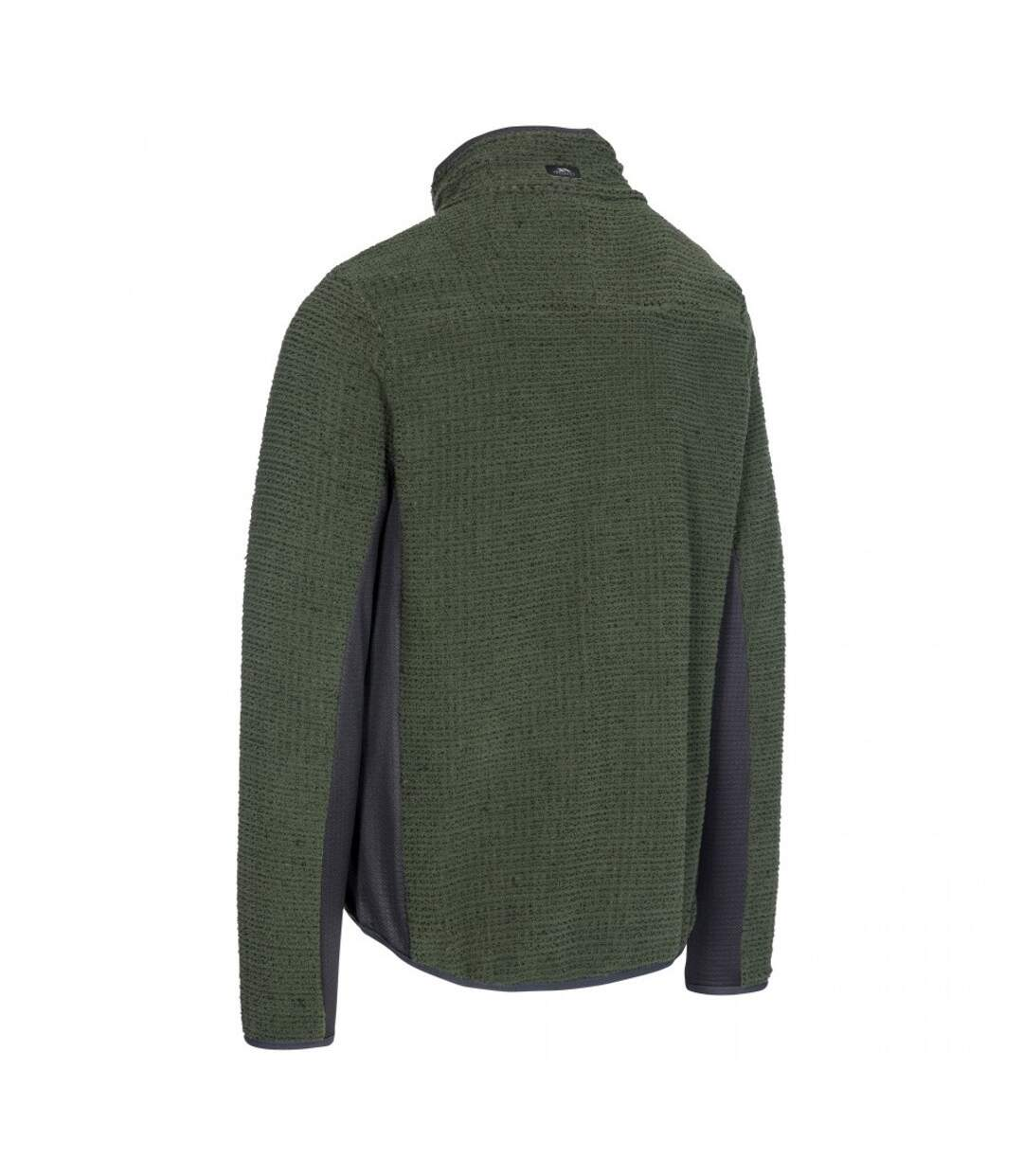 Trespass Mens Templetonpeck Fleece Jacket (Thyme) - UTTP4446