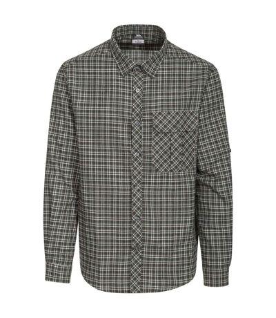 Trespass Mens Snyper Check Shirt (Green Check) - UTTP3805