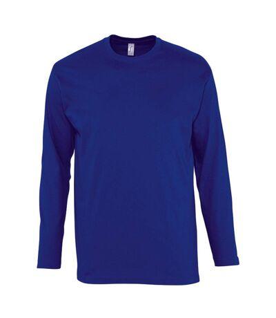 SOLS Mens Monarch Long Sleeve T-Shirt (Ultramarine) - UTPC313