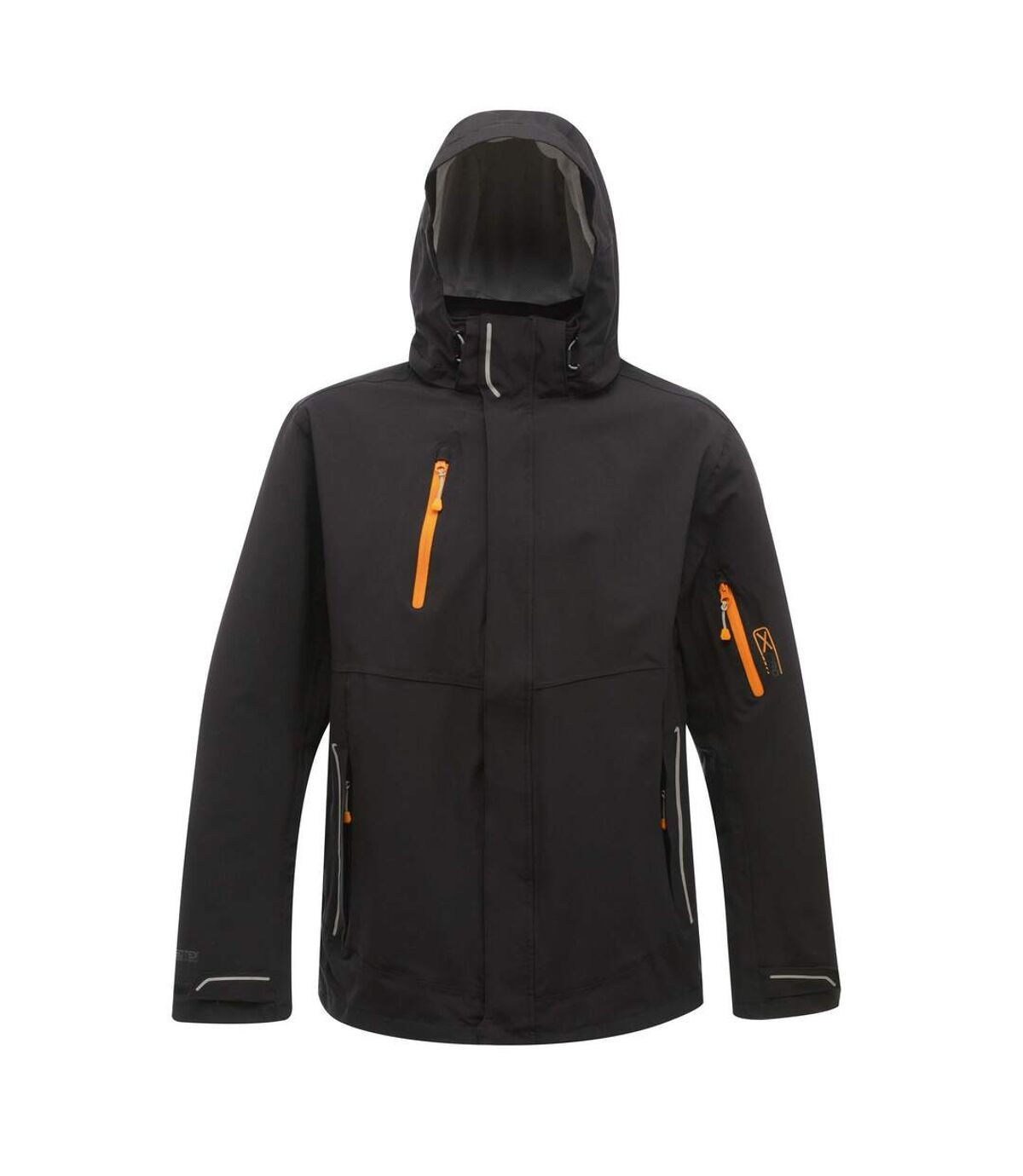 Regatta Mens X-Pro Exosphere Waterproof Stretch Jacket (Black) - UTRG1918