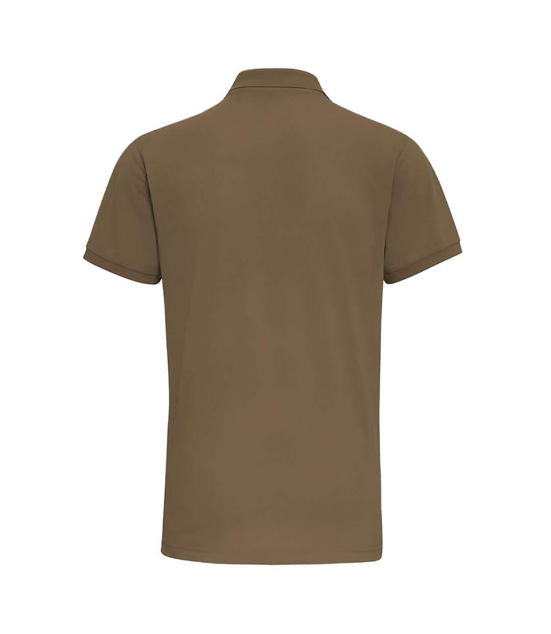 Asquith & Fox Mens Short Sleeve Performance Blend Polo Shirt (Slate) - UTRW5350