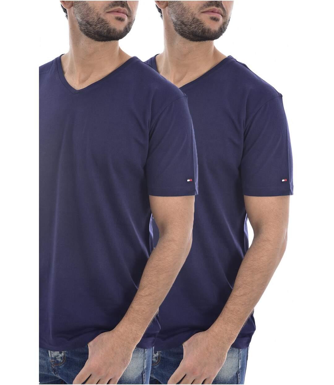 Lot de 2 Tee shirts coton uni  -  Tommy Jeans - Homme