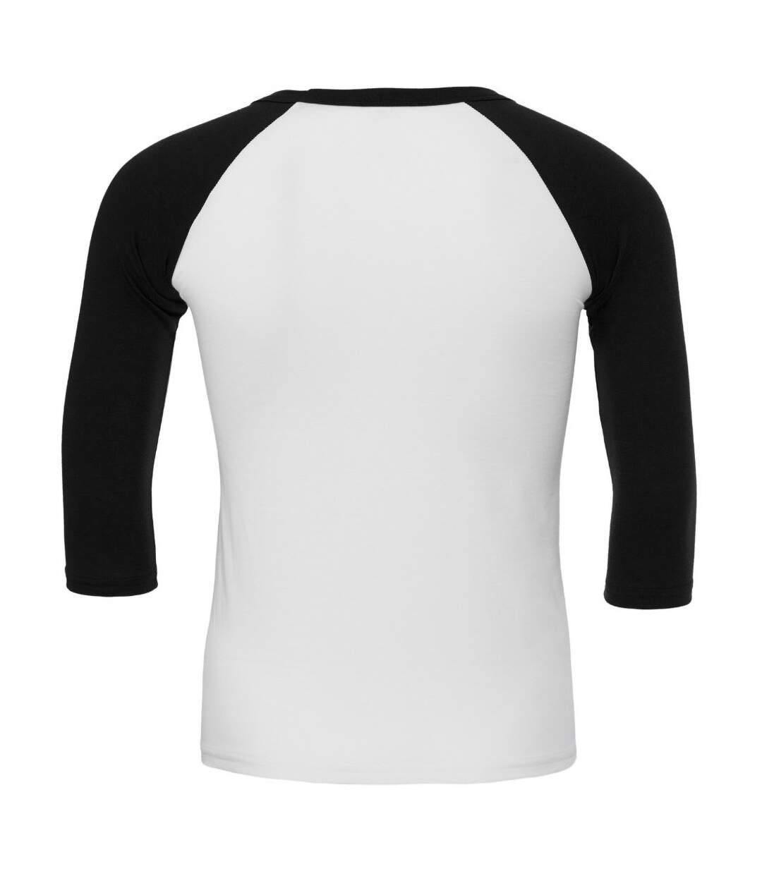 Canvas Mens 3/4 Sleeve Baseball T-Shirt (White/Kelly Green) - UTBC1332