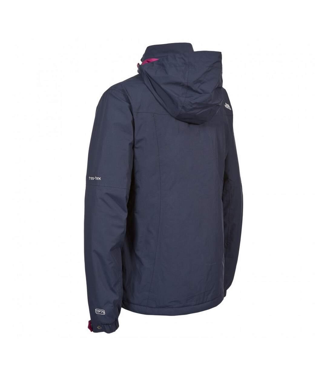 Trespass Womens/Ladies Malissa Lightly Padded Waterproof Jacket (Navy) - UTTP3070