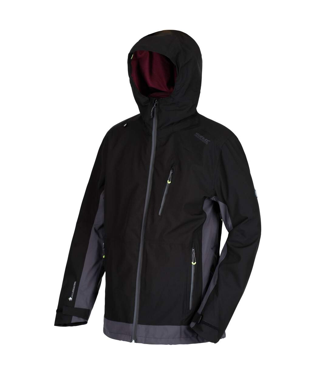 Regatta Mens Wentwood III Jacket (Black/Seal Grey) - UTRG3871