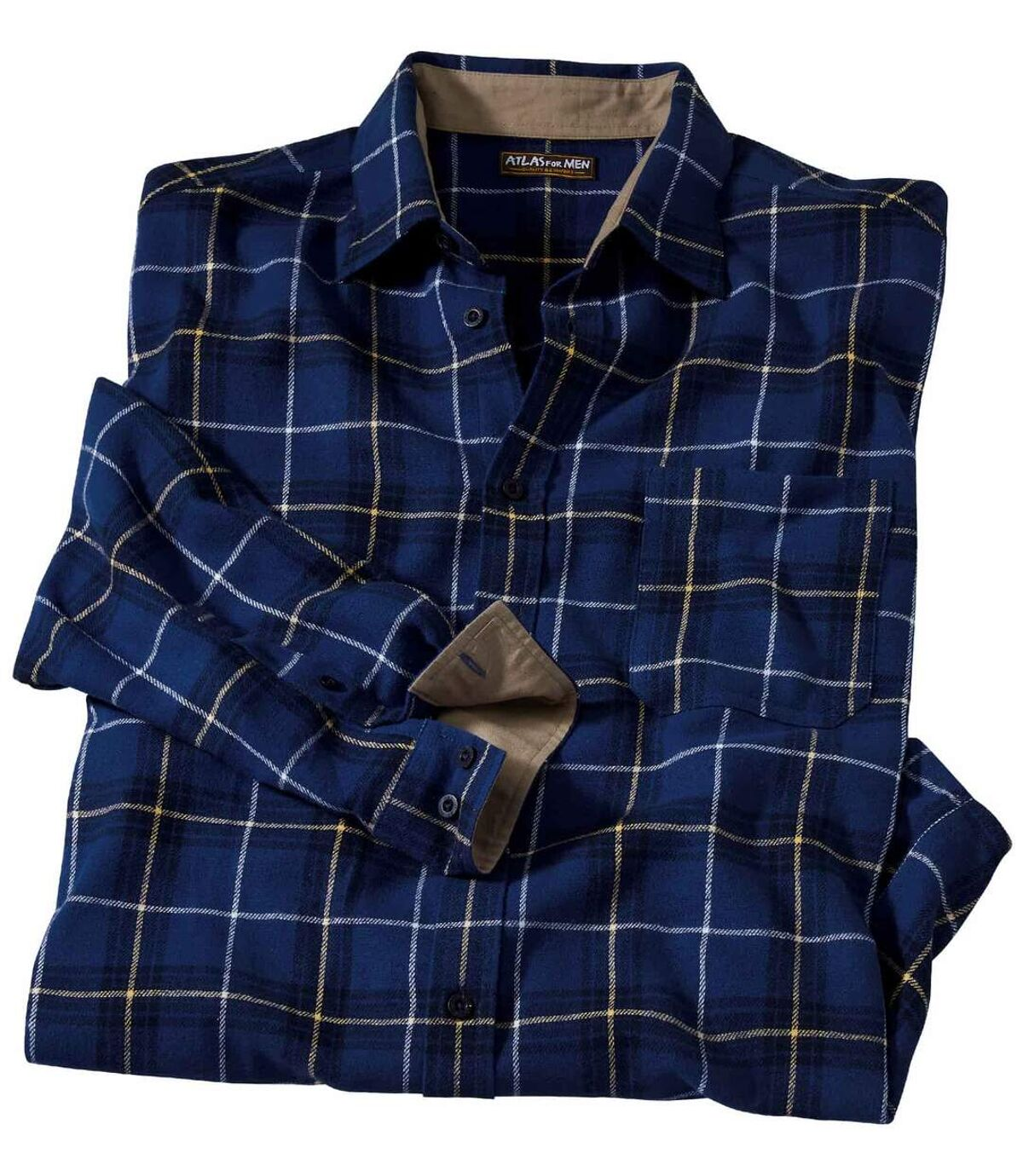 Flanelowa koszula w kratę Sherbrooke Atlas For Men