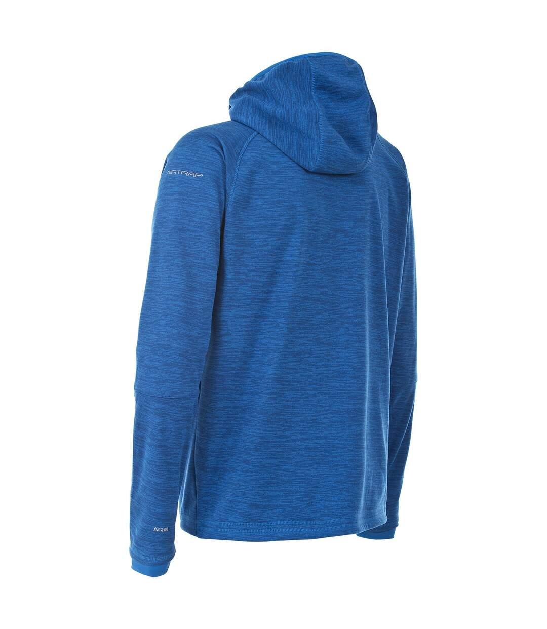 Trespass Mens Northwood Full Zip Fleece Hoodie (Bright Blue Marl) - UTTP3219