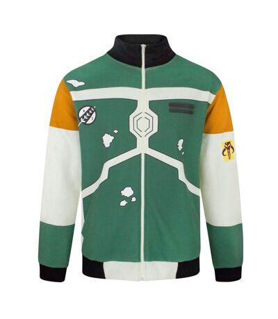 Star Wars Mens Boba Fett Costume Bomber Jacket (Multicoloured) - UTNS4347