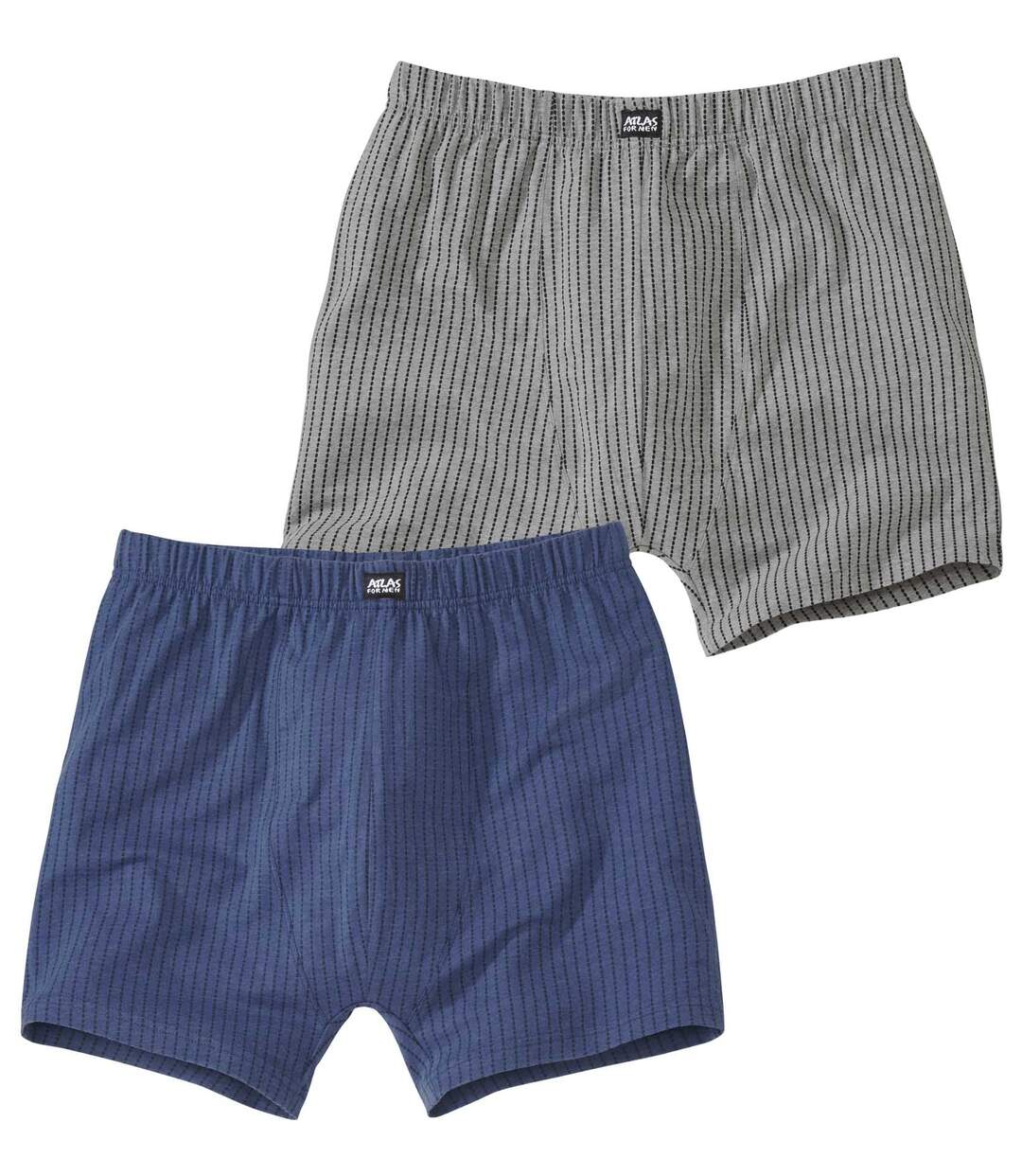 Pack of 2 Men's Striped Hipsters