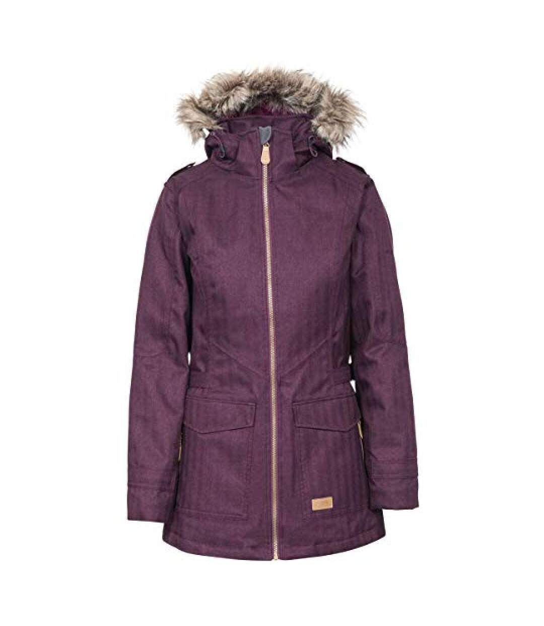 Trespass Womens/Ladies Everyday Waterproof Jacket (Potent Purple) - UTTP4437