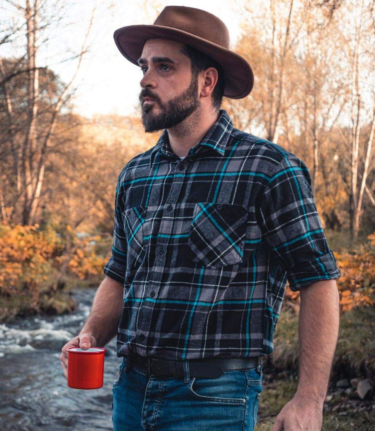 Flanellen overhemd Cold Valley Atlas For Men