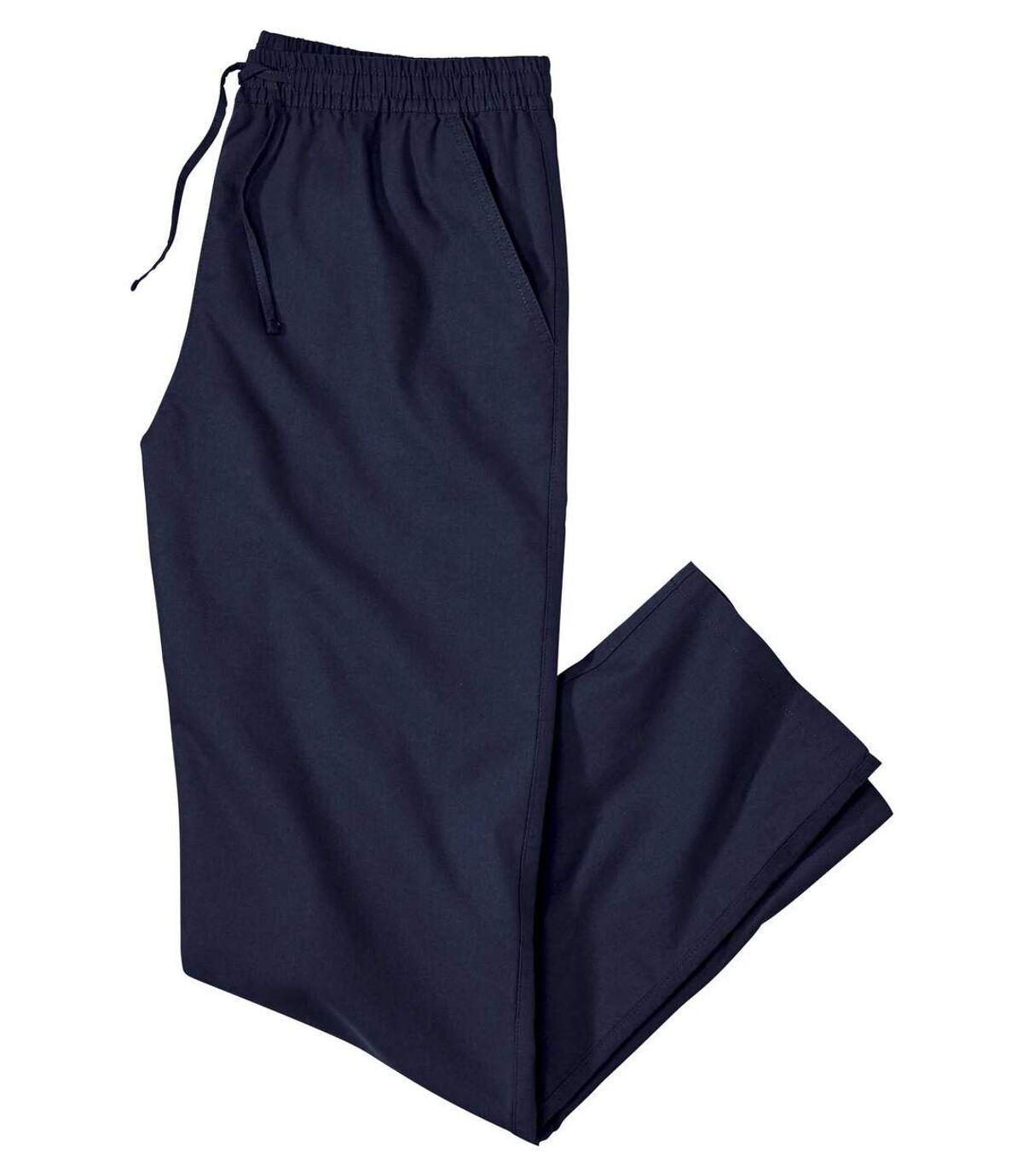 Wygodne, granatowe spodnie Atlas For Men