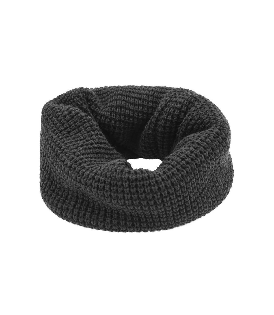 Echarpe - Tour de cou adulte - Taille unique - MB7314 - gris carbone