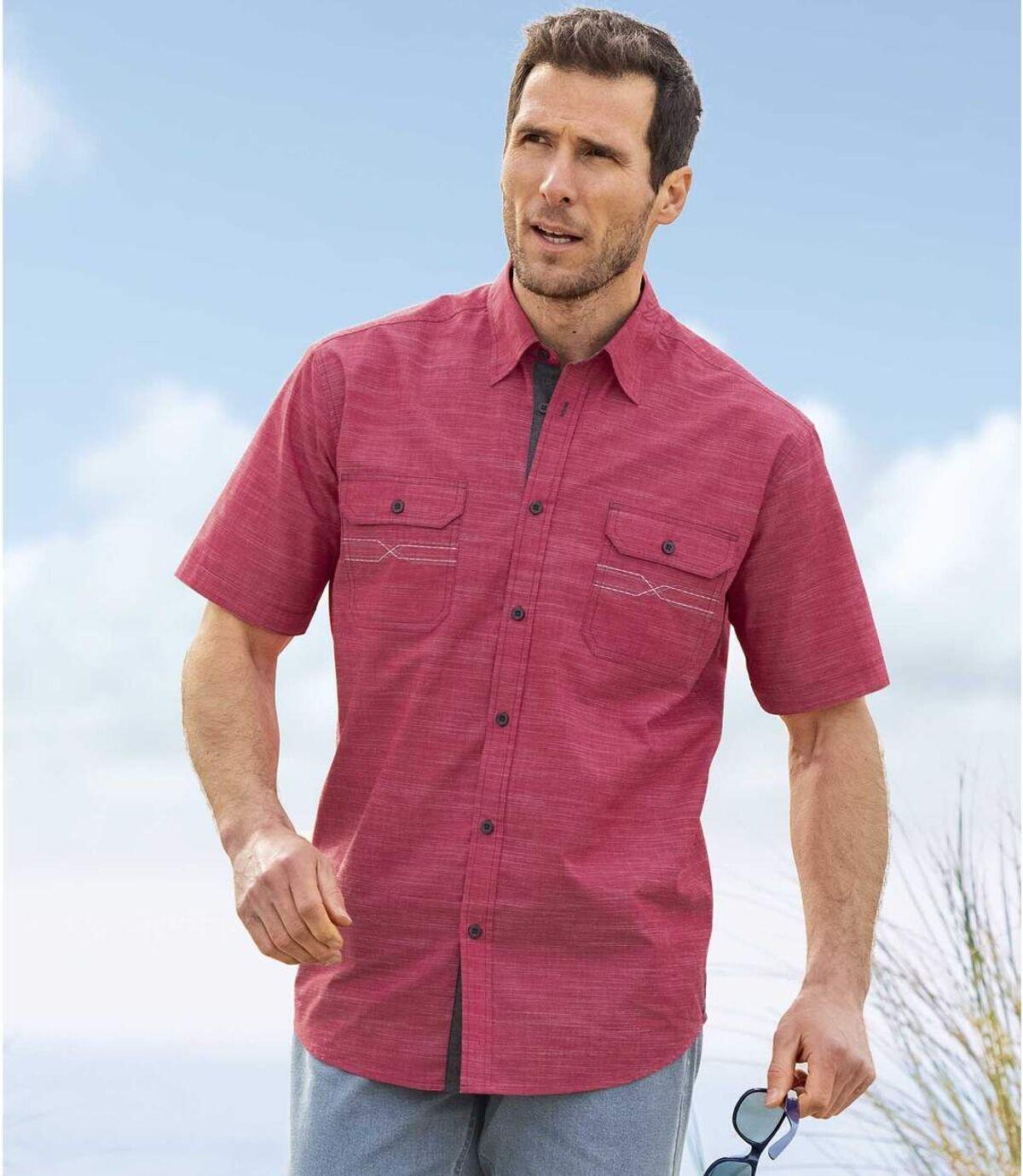 Overhemd met korte mouwen Atlas For Men