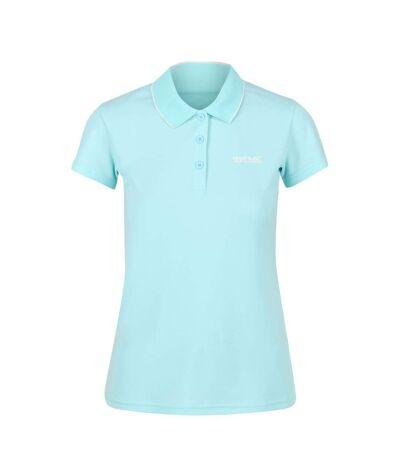 Regatta - Polo manches courtes MAVERICK - Femme (Bleu clair) - UTRG4979