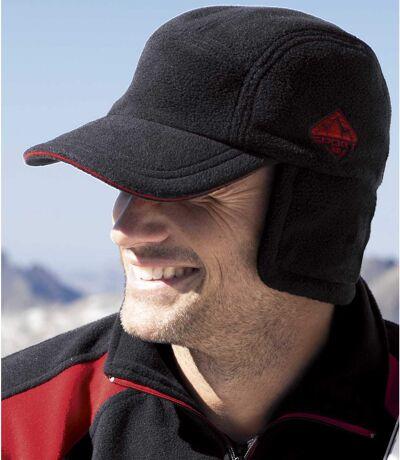 Men's Black Fleece Cap