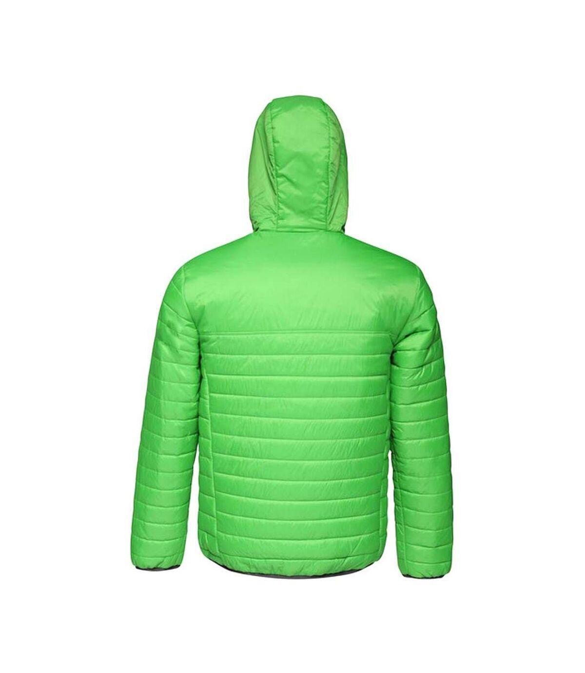 Regatta Mens Acadia II Hooded Jacket (Pure Green/Jet Black) - UTRG3745