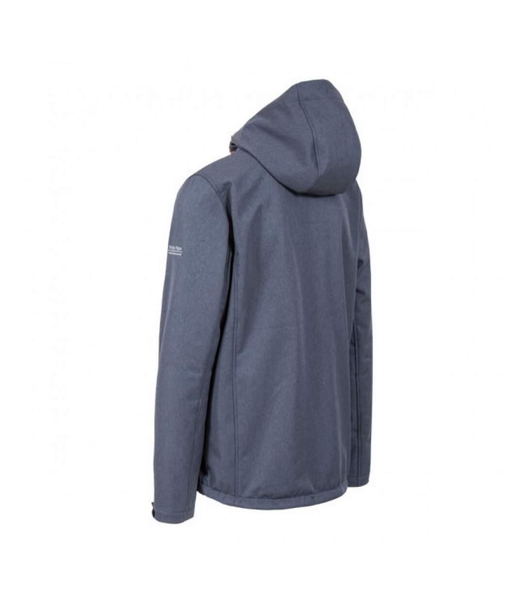 Trespass - Veste Softshell Taye - Homme (Bleu marine chiné) - UTTP3798