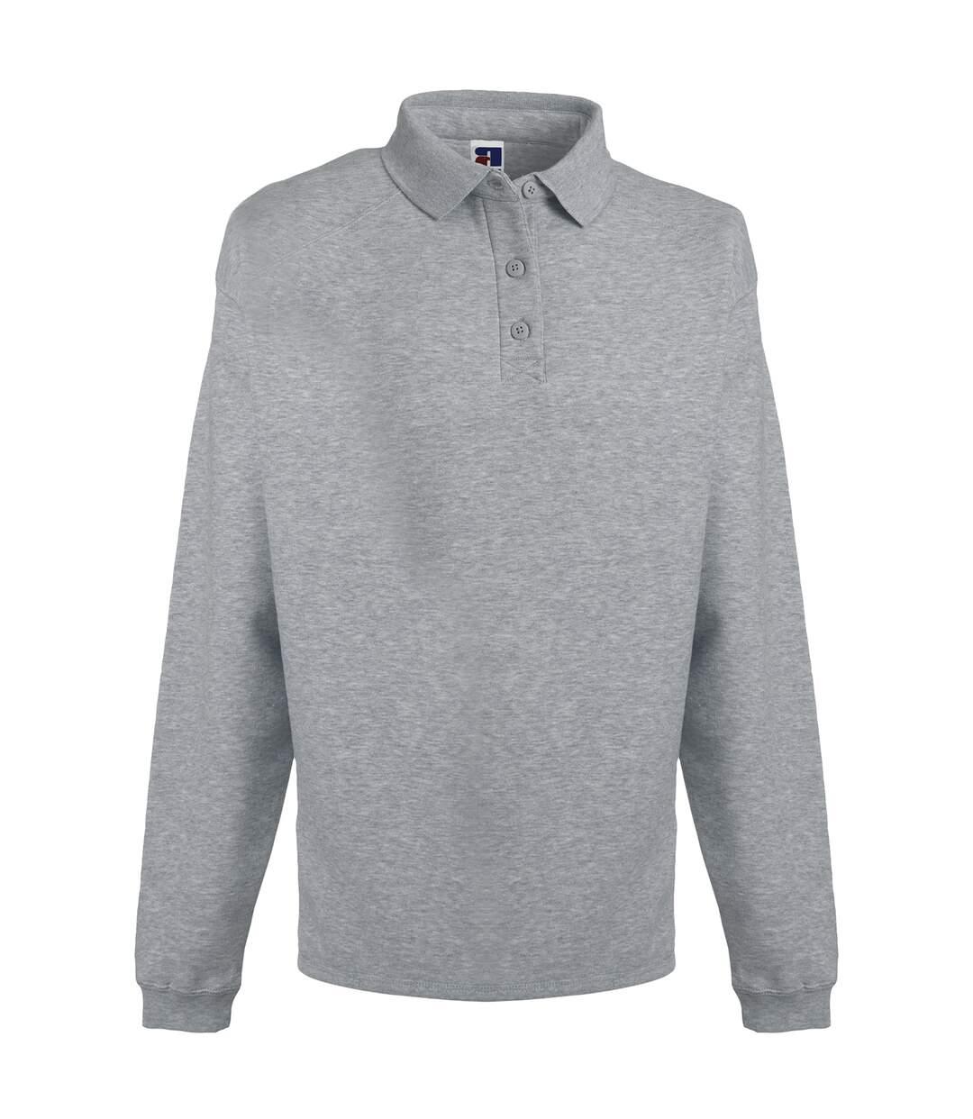 Russell Europe Mens Heavy Duty Collar Sweatshirt (French Navy) - UTRW3275