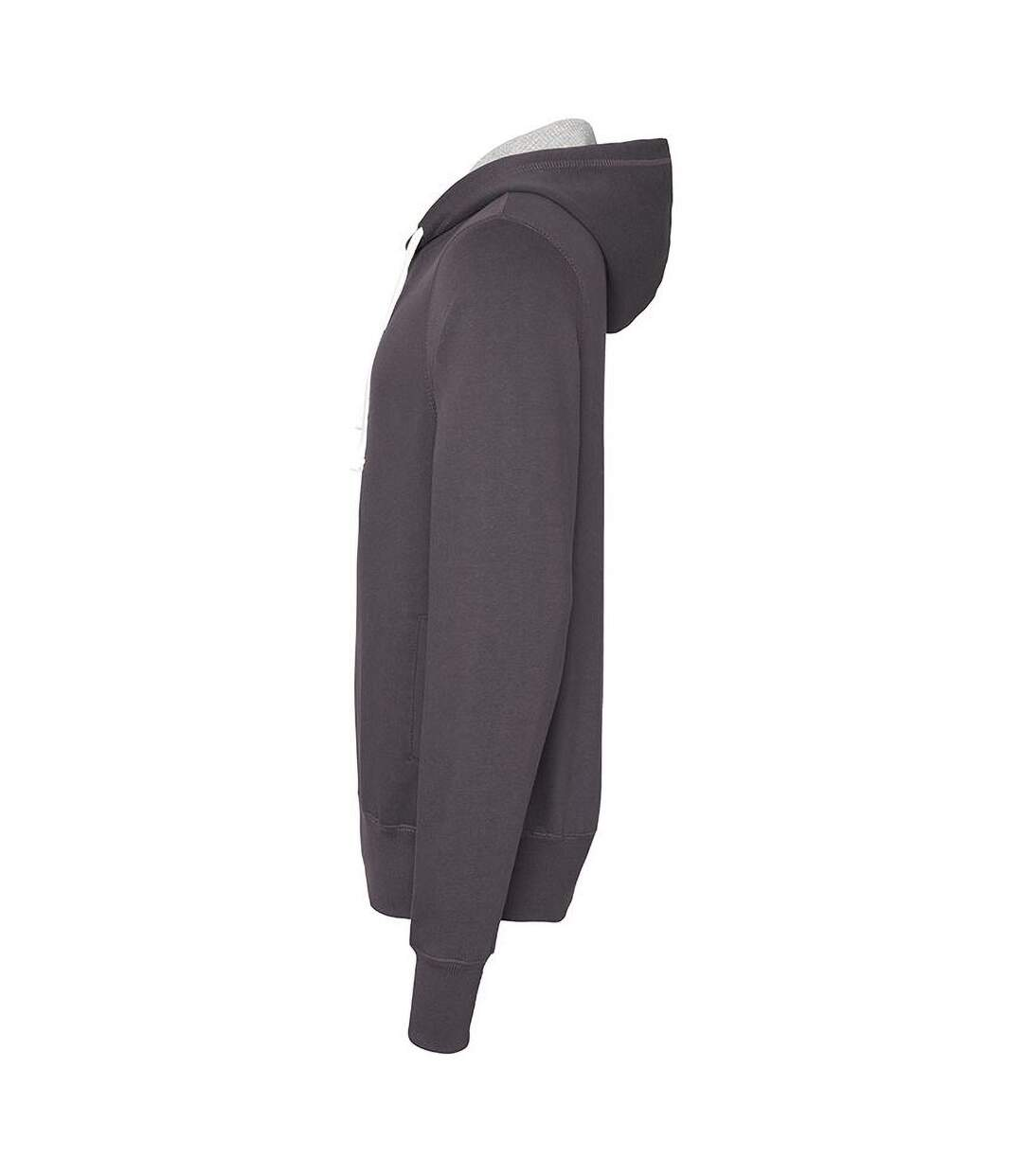 AWDis Just Hoods Mens Chunky Pullover Hoodie (Charcoal) - UTRW3484