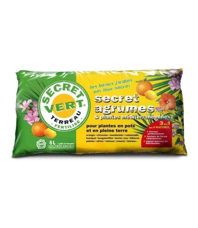 Terreau pour agrumes et plantes méditerranéennes 6 litres