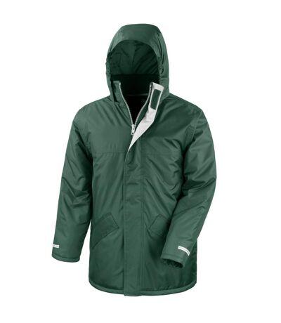 Result Mens Core Winter Parka Waterproof Windproof Jacket (Burgundy) - UTBC901