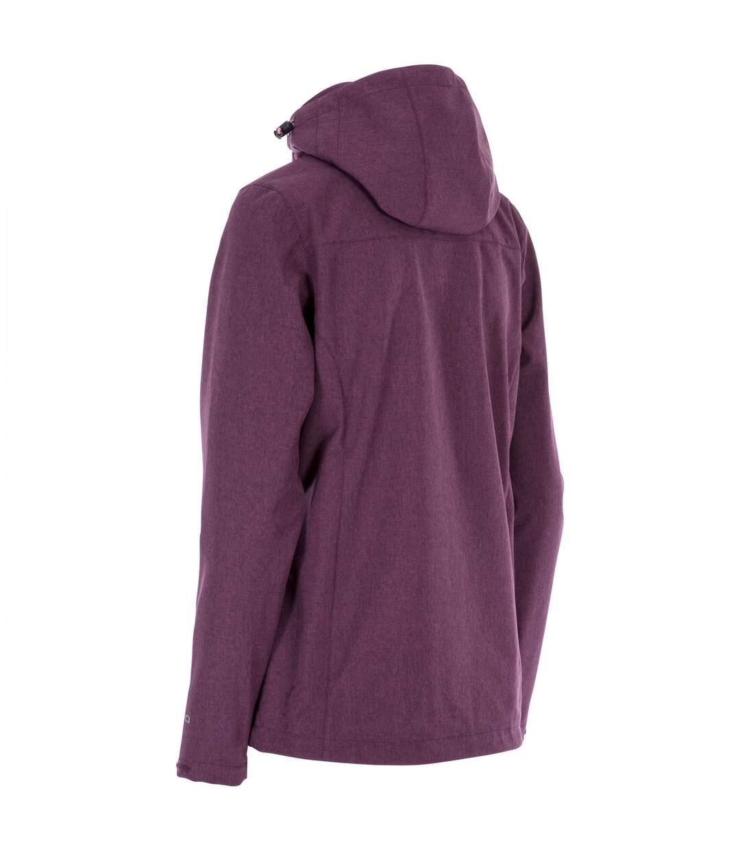 Trespass Womens/Ladies Claren II Waterproof Softshell Jacket (Fig Marl) - UTTP4615