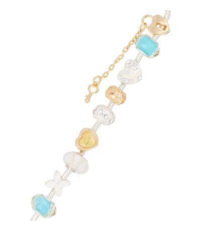 Bracelet Mylady Charm - Argenté et Rose