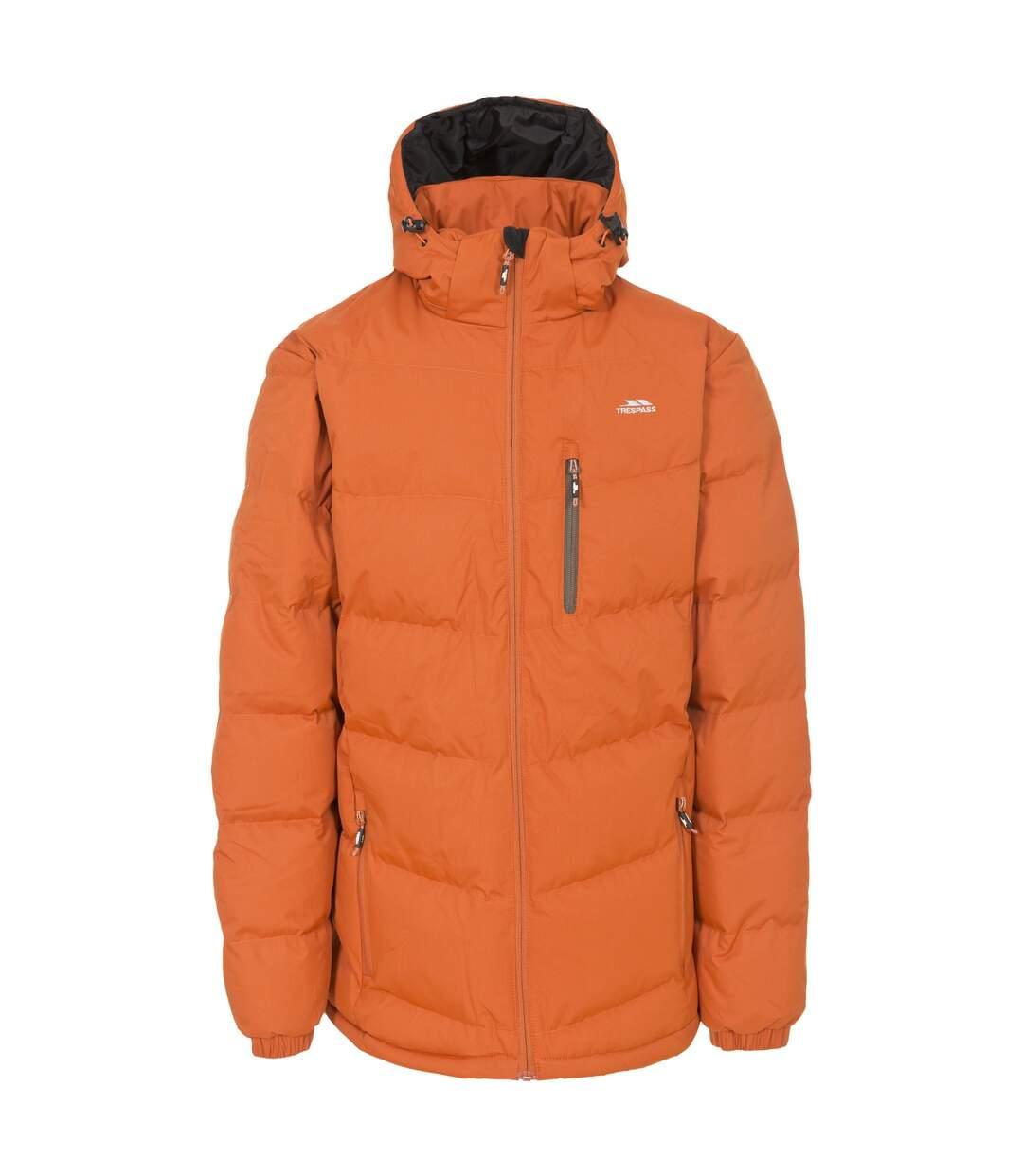 Trespass Mens Blustery Padded Jacket (Burnt Orange) - UTTP1141