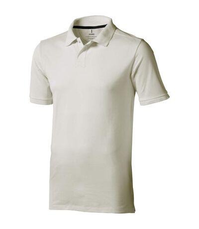 Elevate Mens Calgary Short Sleeve Polo (Pack of 2) (Light Grey) - UTPF2498