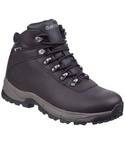 Hi-Tec - Chaussures imperméables de randonnée EUROTREK - Homme (Marron foncé) - UTFS5307