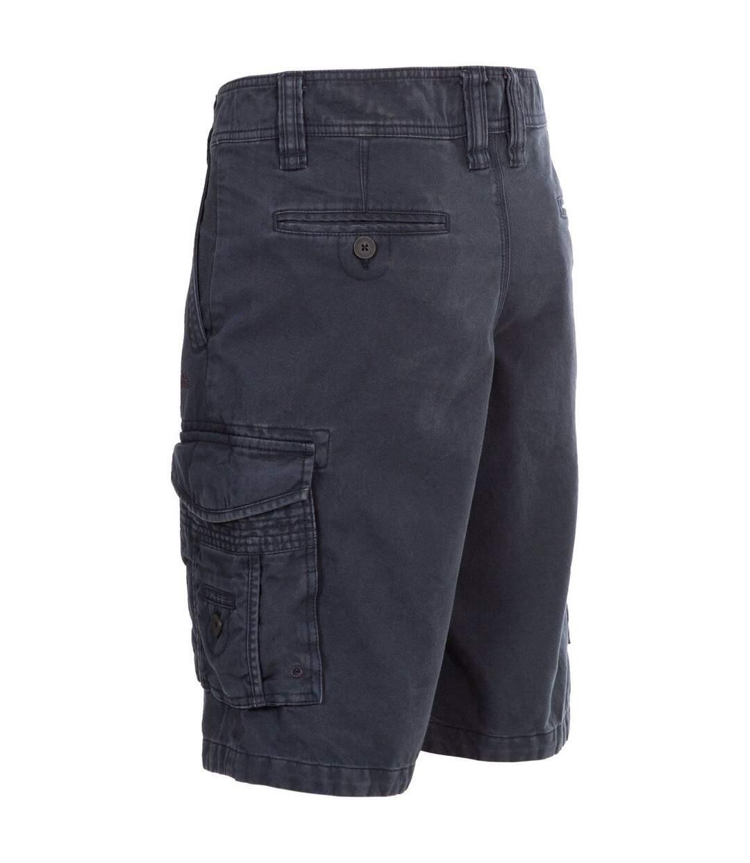 Trespass Mens Usmaston Cargo Shorts (Navy) - UTTP5193