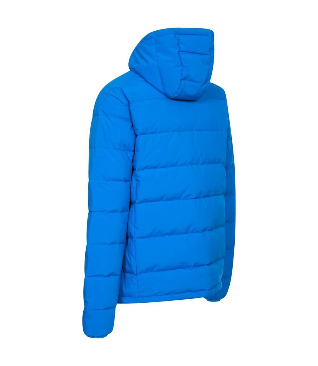 Trespass Mens Crane DLX Down Jacket (Blue) - UTTP3774