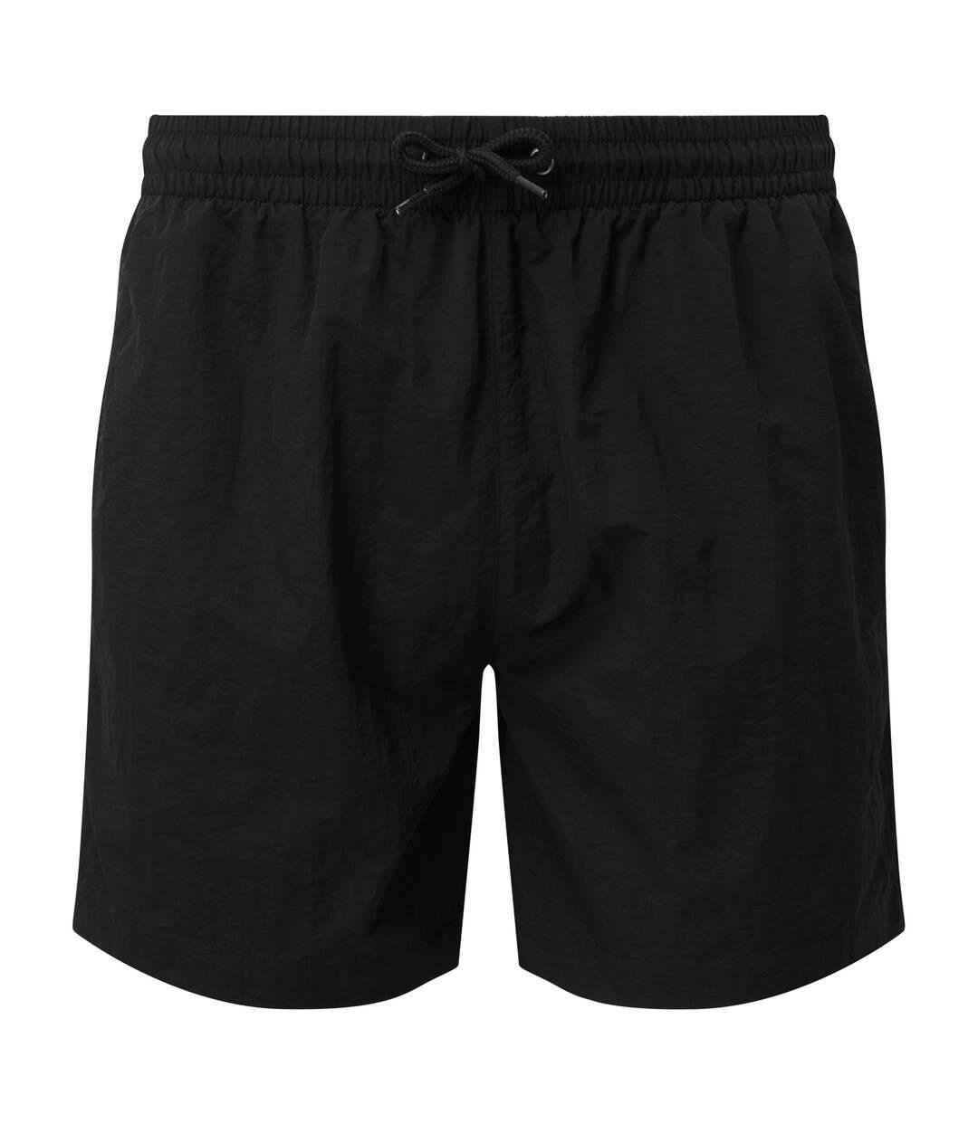Asquith & Fox Mens Swim Shorts (Purple/Black) - UTRW6242