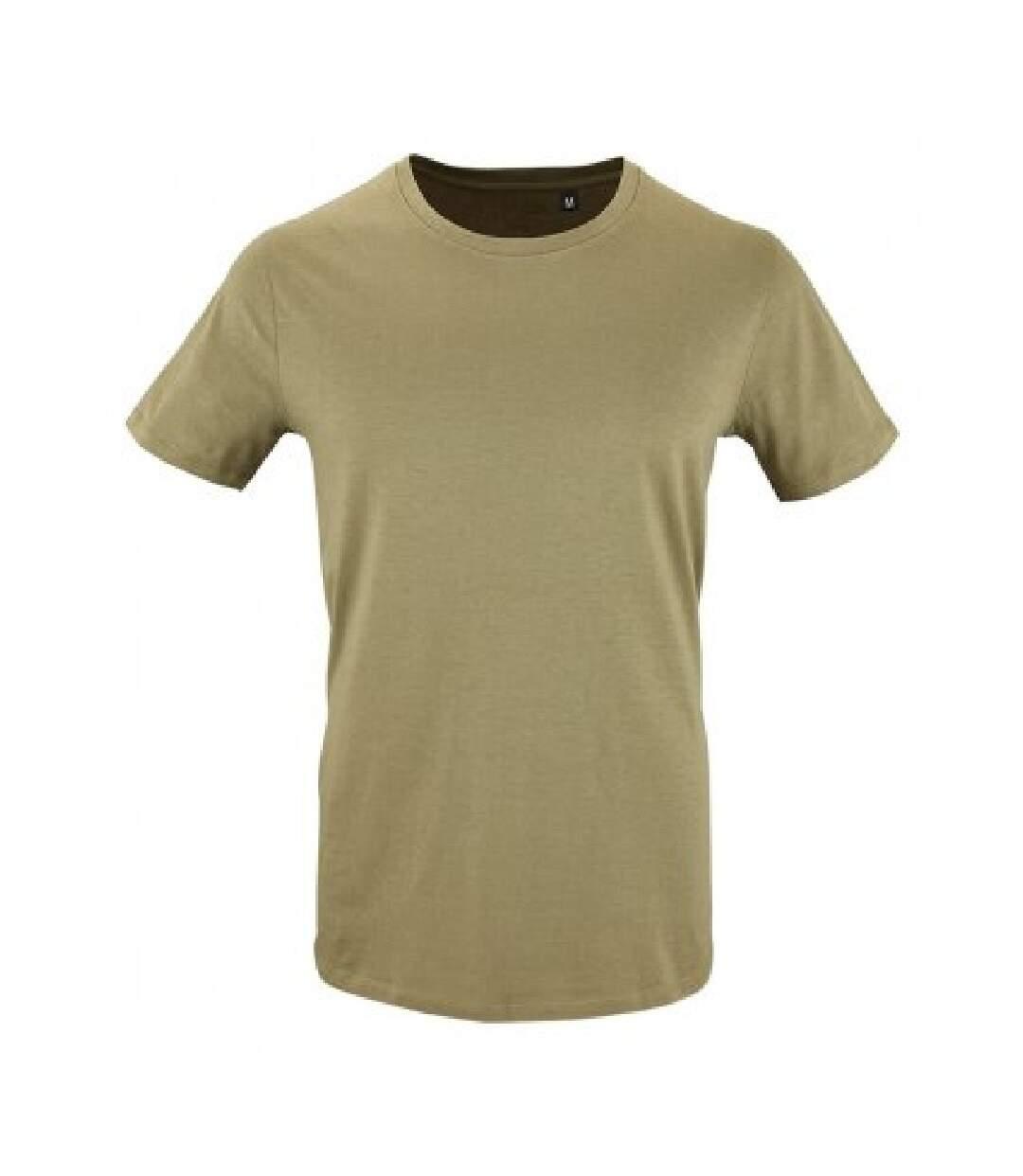 SOLS Mens Milo Organic T-Shirt (Khaki) - UTPC3232