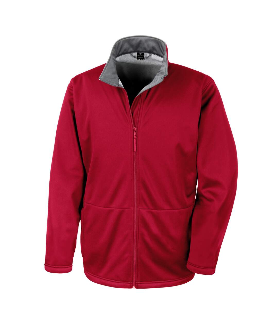 Result Core Mens Soft Shell 3 Layer Waterproof Jacket (Red) - UTBC904