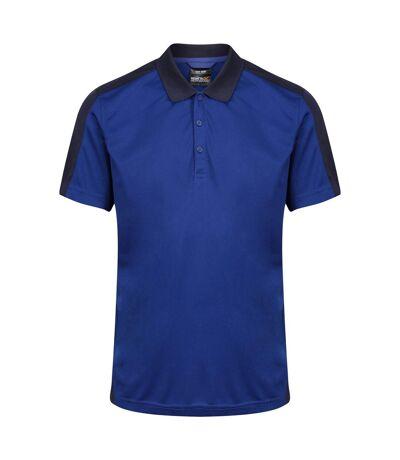 Regatta Mens Contrast Coolweave Polo Shirt (New Royal/Navy) - UTRG3573