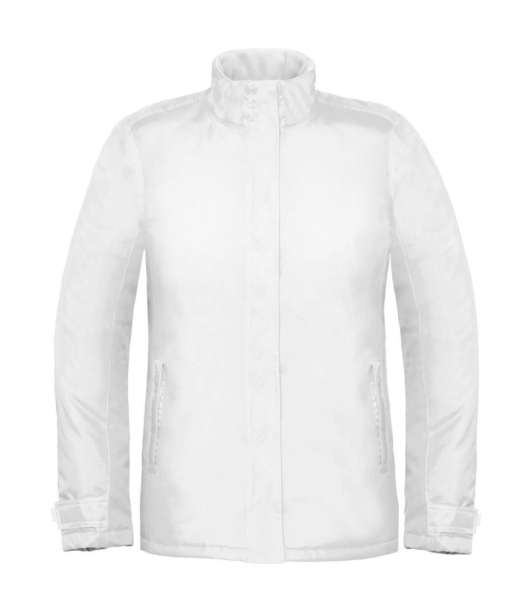 B&C Womens/Ladies Premium Real+ Windproof Waterproof Thermo-Isolated Jacket (White) - UTBC2003