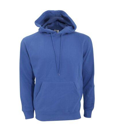 SG Mens Plain Hooded Sweatshirt Top / Hoodie (Denim) - UTBC1072